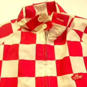 Vans Checkerboard Large jacket Racing Skate BMX